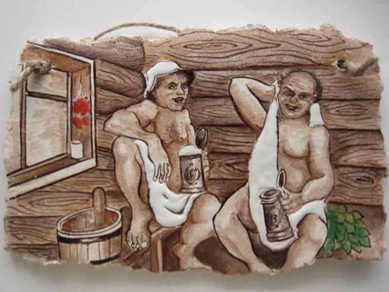 Фото рисунки бани
