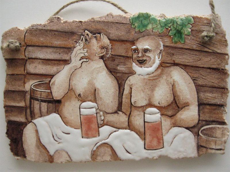 Картины для бани и сауны своими руками 87